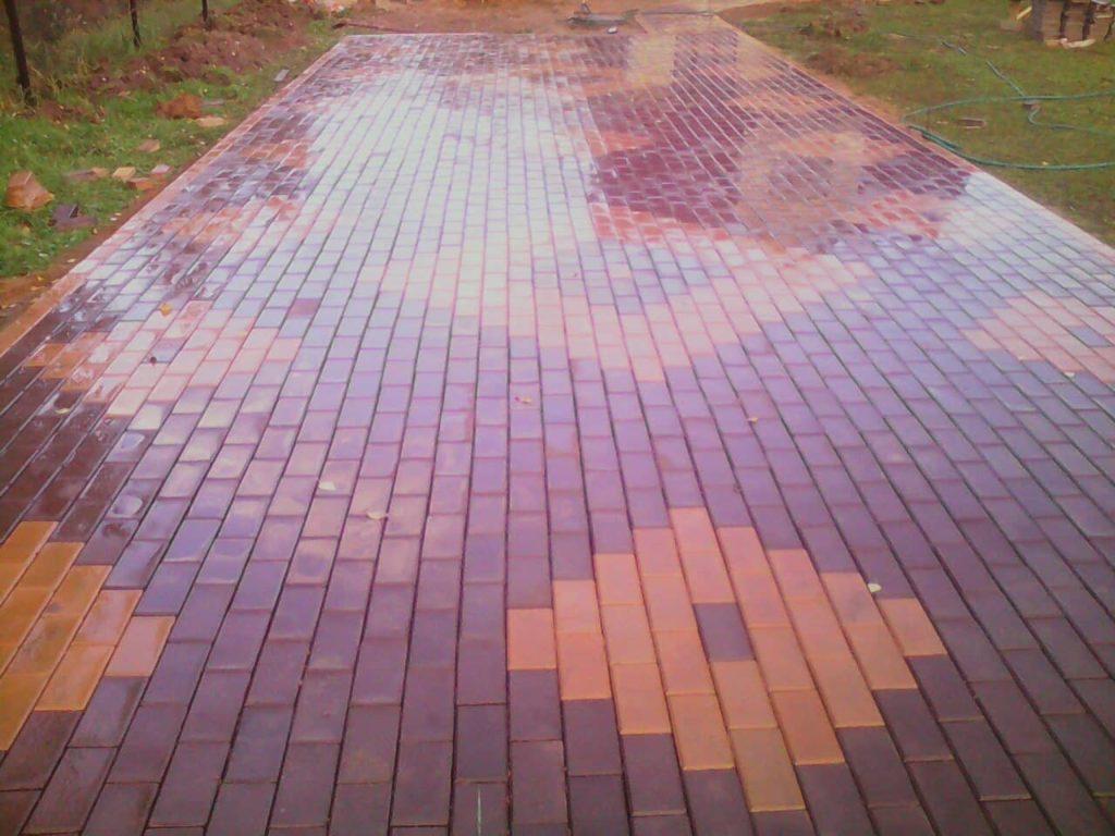 укладка тротуарной плитки в одинцово
